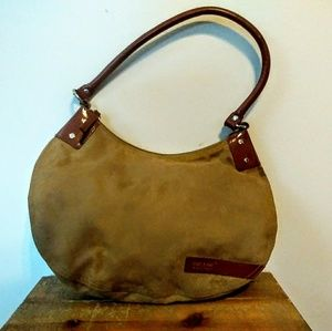 Matt & Nat Montreal Vegan Suede Hobo Bag